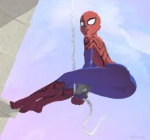Spider-Girl by StyloideIllustration