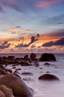 Phuket Sunset at Karon Beach by JBord