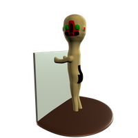 3D - SCP-173 statuette by Rhyrs