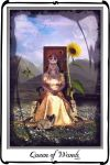 Tarot- Queen of Wands by azurylipfe