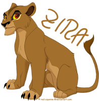 Commission- Teen Zira by Red-Cayenne