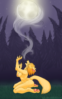 Howl To Mother by OokamiCasha