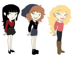 Xiaolin Showdown Adoptables 1/3 OPEN by RemiliaSweetheart