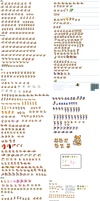A Tails sprite sheet by supersilver27
