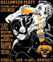 Halloween Party Poster by Alex-Cooper