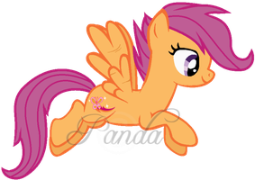 Adult Scootaloo by iPandacakes