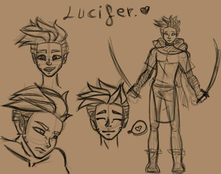Lucifer sketches.  by benagremi