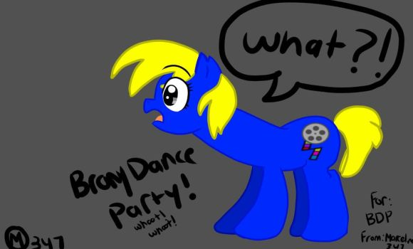 BronyDanceParty as a mare! by Marceline347