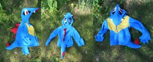 Totodile Toddler Hoodie by Hop-is-my-Hero