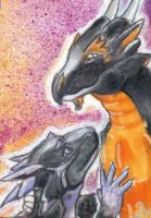 monstermaster7-ACEO by Levn