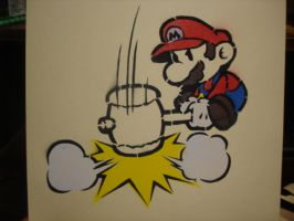 Spray Paint Mario by HelloSir