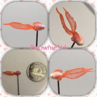 Polymer clay fish by Brownie314
