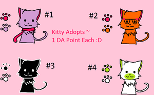 Kitty Adopts #2 :D by WolvesOfComedy
