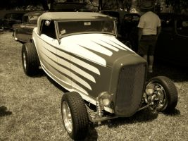 Scalloped Duece Sepia by StallionDesigns