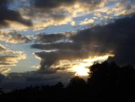 Sunset2 22nd June 2010 by AussieSheilaSunsets