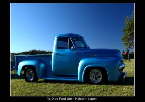 Ye Olde Ford Ute by FireflyPhotosAust