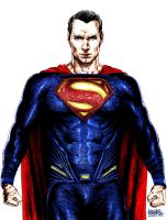 Superman (Henry Cavill) Dawn of Justice by Alexbadass