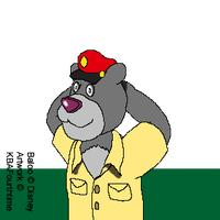 Baloo from Talespin by KBAFourthtime