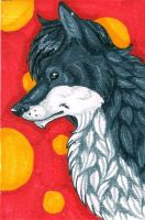 Prize ACEO: Blare by KamiraWolfDemon