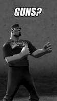 Overly Manly Joey by WitchyGmod