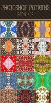 Photoshop Patterns - Pack 12 by punksafetypin