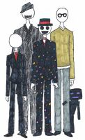 Slender Family by AScarletmoon17