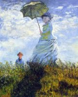 Monet's Woman with an Umbrella by AnnaSulikowska