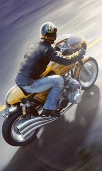 Cafe Racer by Farins