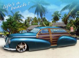 Woodie Hot-Rod by BarneyHH