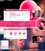 T H E M E W8 PINK FOR W7 by k1000adesign