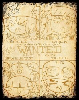 J.B.C.C. Wanted Poster - justDEF [OCs] by Just-Def