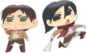 Attack on Puchi by Triple-Q