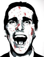 Wall 10 of 16 American Psycho by ironlung2188