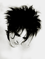 Robert Smith by FoxInShadow