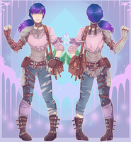 :Comm: Outfit for Trieka by MMtheMayo