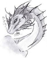 Water Dragon SCANNED by Minxies