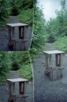 Little Stool by elliotbuttons