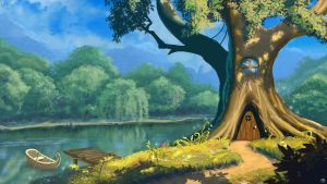 Tree house by Linko66