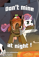 Don't mine at night ! - Fan Art by Obisam