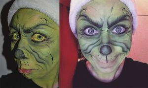 MakeUp: The Grinch. by JessieOctober