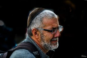 a guy in Jaffa by Rikitza