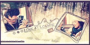 love at louvre by jewell-liu