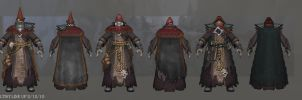 Cultist Lineup by DevindraLeonis