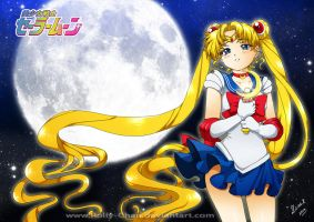 Sailor Moon by Rolly-Chan