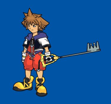 Sora Colored by rps13fanatic
