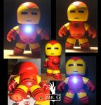 Custom Iron Man Mighty Muggs by mistergarbage
