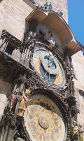 Prague Astronomical Clock by Lenny-art