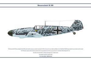 Bf 109 G-2 JG5 1 by WS-Clave