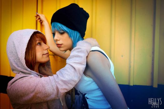 Max and Chloe cosplay by LilituhCosplay