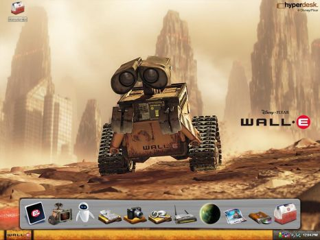 Wall-E XP Desktop by josemiguelgarcia